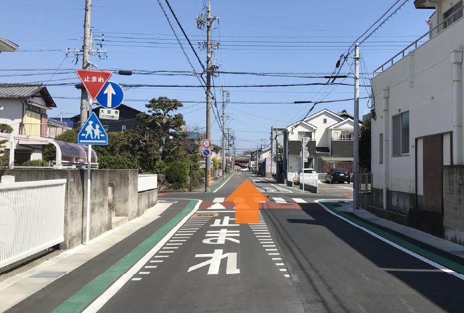国道1号線(静岡側から)3